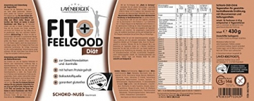 Layenberger Fit + Feelgood Schlankdiät Schoko-Nuss, 1er Pack (1 x 430 g) - 2