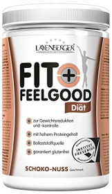 Layenberger Fit + Feelgood Schlankdiät Schoko-Nuss, 1er Pack (1 x 430 g) - 1